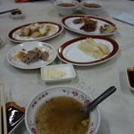 二階の中華レストラン
