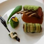 Lamb rack, I love the presentation