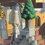 View from my balcony of Palue Gaudi!!