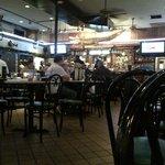 Inside of le Bayou Restaurant