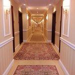 Interior communal hallway