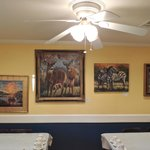 Back dining area