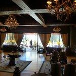 Reception room, Llao Llao Hotel, Bariloche, Argentina