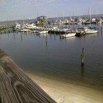 Steves Marina Long Beach Mississippi Deck View