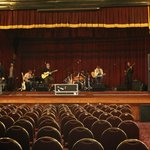 Zeppa Auditorium Setup With Floor Seating For Concert