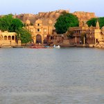 Golden fort &Gadisar lake.