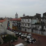 View from balcony looking toward Casco Viejo