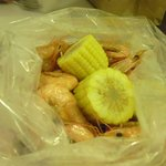 shrimp in the bag