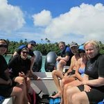 Fantastic trip snorkelling with whales