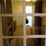 Poor maintenance practice. Beedroom door