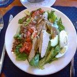 Salad menu at Lunch