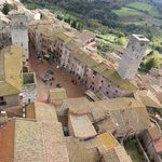 Climb the tallest tower in San Gimi for this view