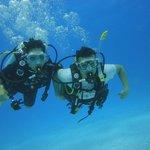 Scuba Diving con mi esposa en San Andrés