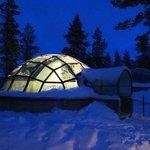 the glass igloo