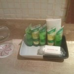 Utilities provided in bathroom: facewash, shampoo, conditioner, soap, hair gel and towels