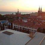 Вид с башни - Топ Капи и Кремлин