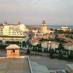 Вид с башни - Мардан Палас