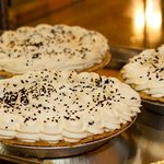 Chocolate Cream Pies just made by our Bakers!