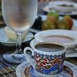 Great Turkish coffee.