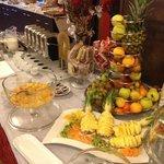 buffet colazione, frutta