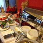 buffet colazione, il salato