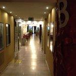 sala colazione, corridoio di design