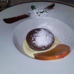 Dessert: tortino con cuore fondente