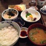 Rice set meal
