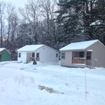 Cottage 4 and 5  snow covered
