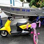Dinghy, Scooter and Bike Hire