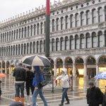.....unico (per fortuna) giorno di pioggia, ma Venezia è sempre bella anche con la pioggia!!!!