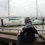 Danga Bay is under renovation