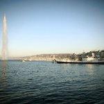 Le Lac Léman et son jet d'eau