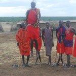The Masai leap