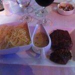 Steak au poivre vert de kampot