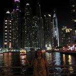 Дубай Марина- прогулочная зона.