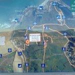 Plano de rutas del Parque natural de Pagoeta