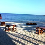Chaweng Beach, кафе