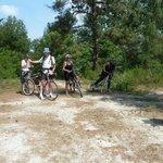 Chemin de randonnée ou en VTT en Sologne très apprécié en été