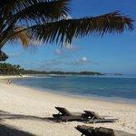 La plage et son sable fin
