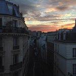 Morning from Le Toits du Marais