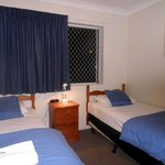 Room # 2 with 2 single beds