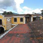 Posada San Pedro - terrace on roof