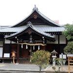 湯神社本殿です