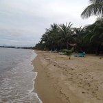 quiet clean beach