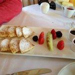 Desayuno - pancakes deliciosos
