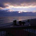 Daytona Sunrise from our balcony