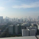 View from terrace of Garden Suite on 29th floor