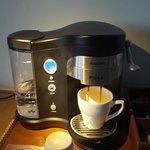 Room's coffee machine.