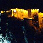 vue nocturne sur le chateau